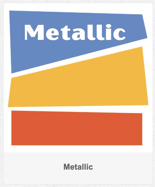 Shop for metallic fabric