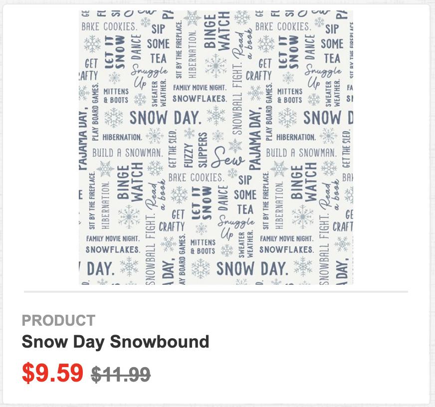 Snow Day Snowbound