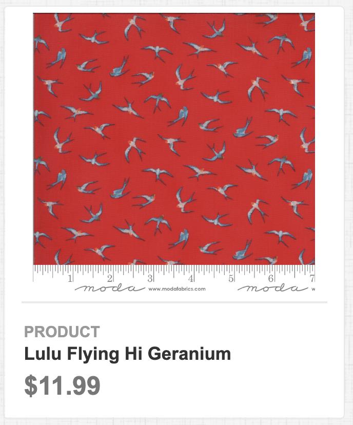 Lulu Flying Hi Geranium