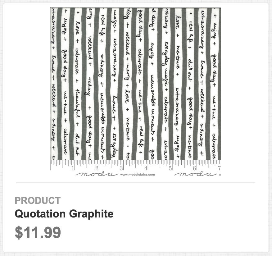 Quotation Graphite 3