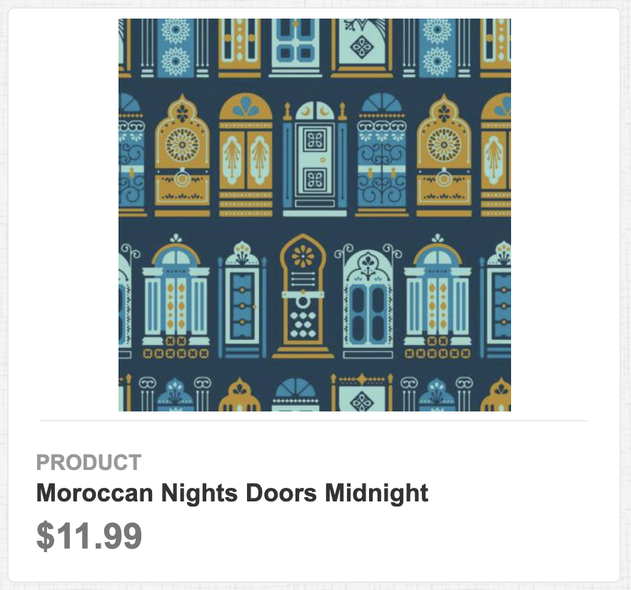 Moroccan Nights Doors Midnight