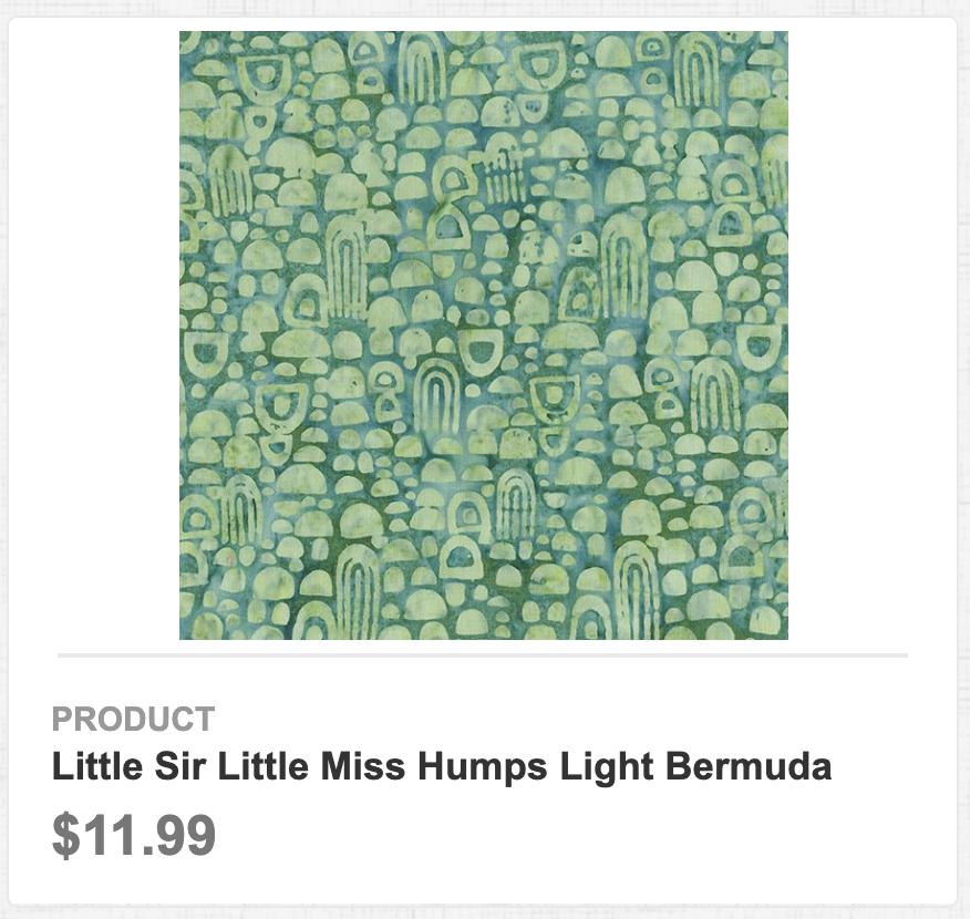 Little Sir Little Miss Humps Light Bermuda