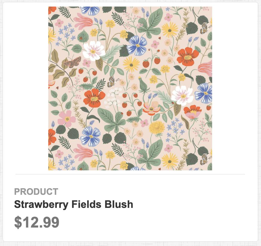 Strawberry Fields Blush