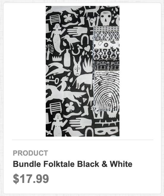 Bundle Folktale Black & White