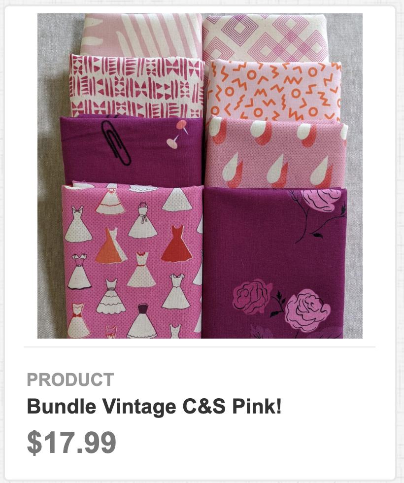 Bundle Vintage C&S Pink!