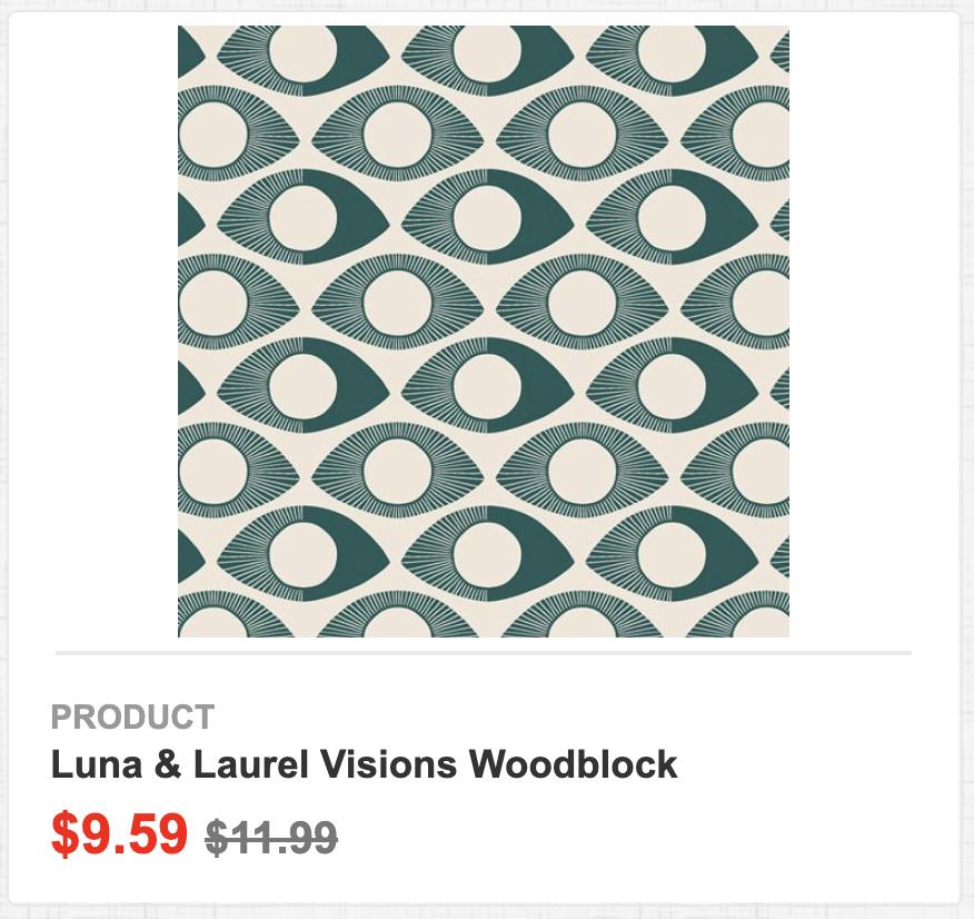 Luna & Laurel Visions Woodblock