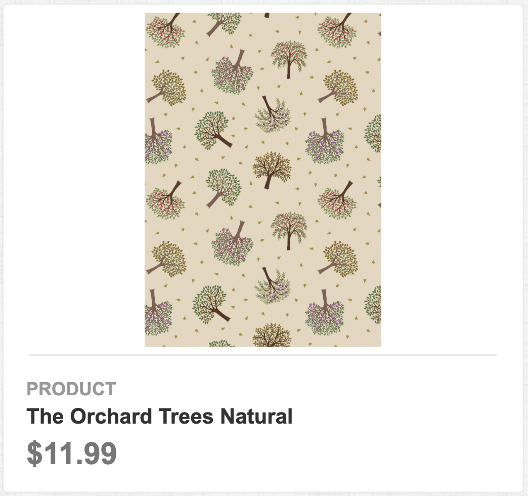 The Orchard Trees Natural