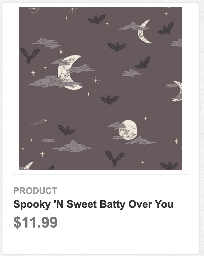 Spooky N' Sweet Batty Over You