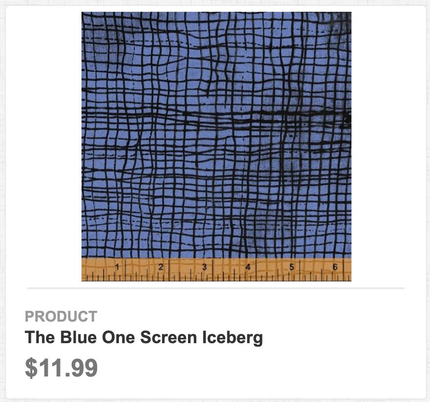 The Blue One Screen Iceberg