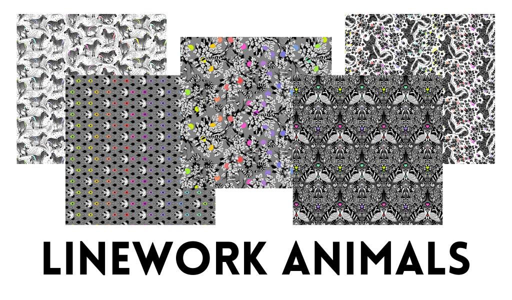 Linework Animals