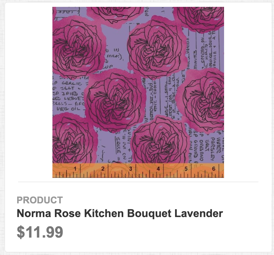 Norma Rose Kitchen Bouquet Lavender