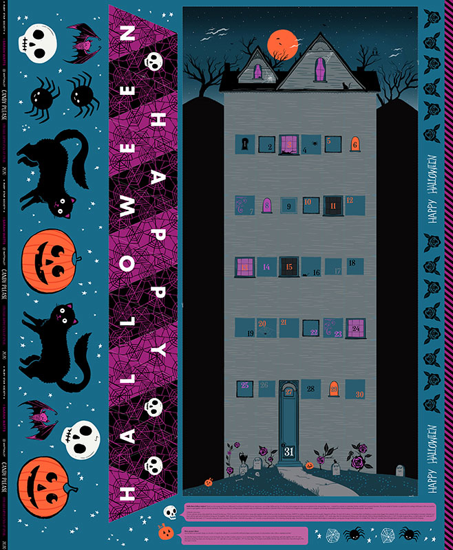 Candy Please Calendar Panel Multi