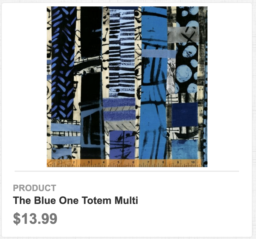 The Blue One Totem Multi