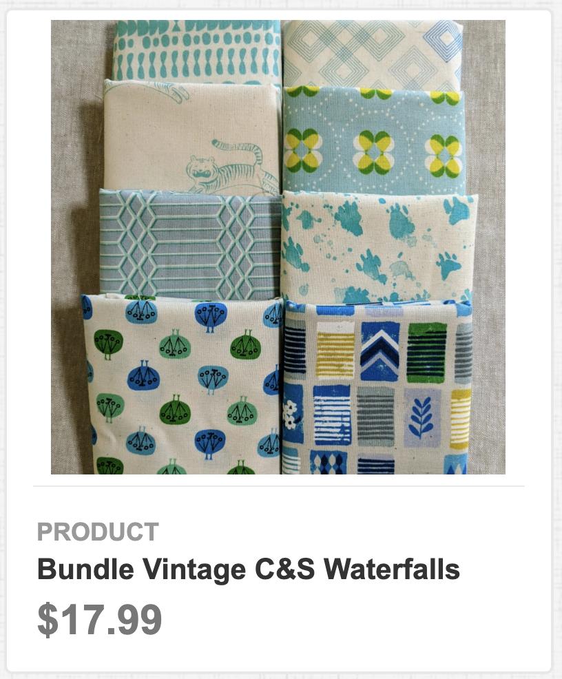 Bundle Vintage C&S Waterfalls