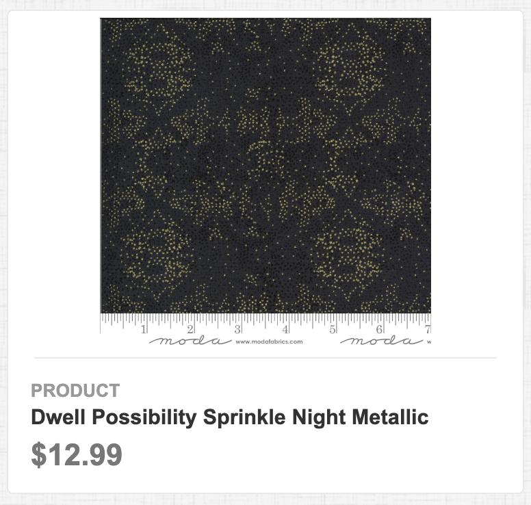 Dwell Possibility Sprinkle Night Metallic