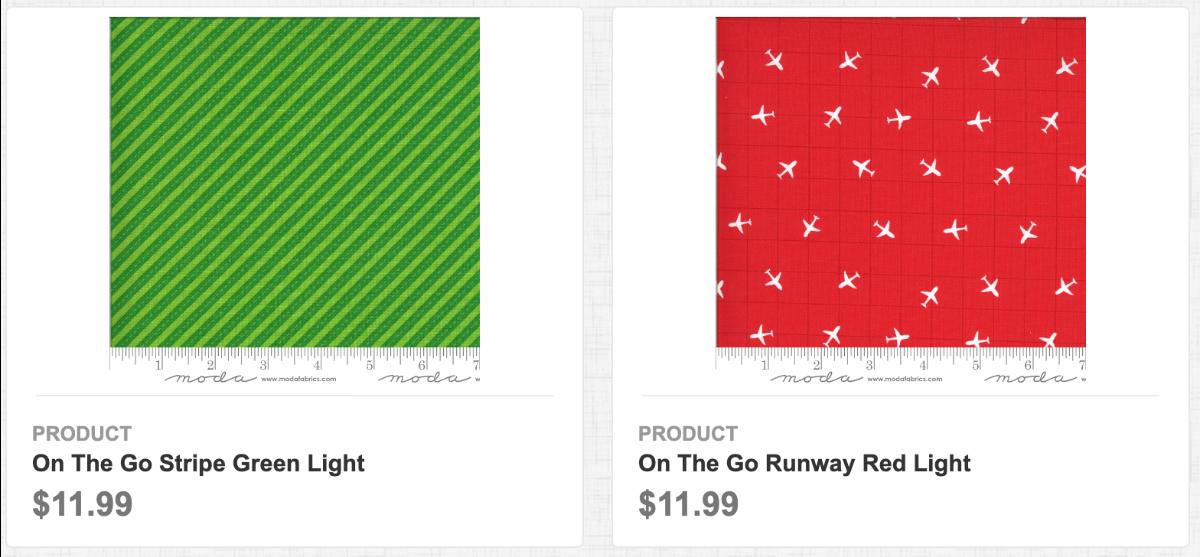 On the Go: Stripe Green Light, Runway Red Light
