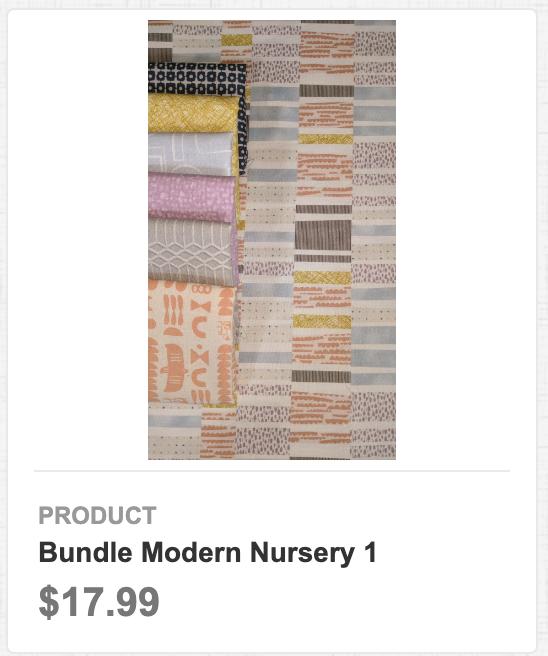 Bundle Modern Nursery 1