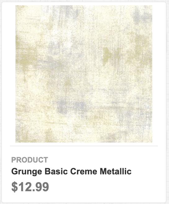 Grunge Basic Creme Metallic