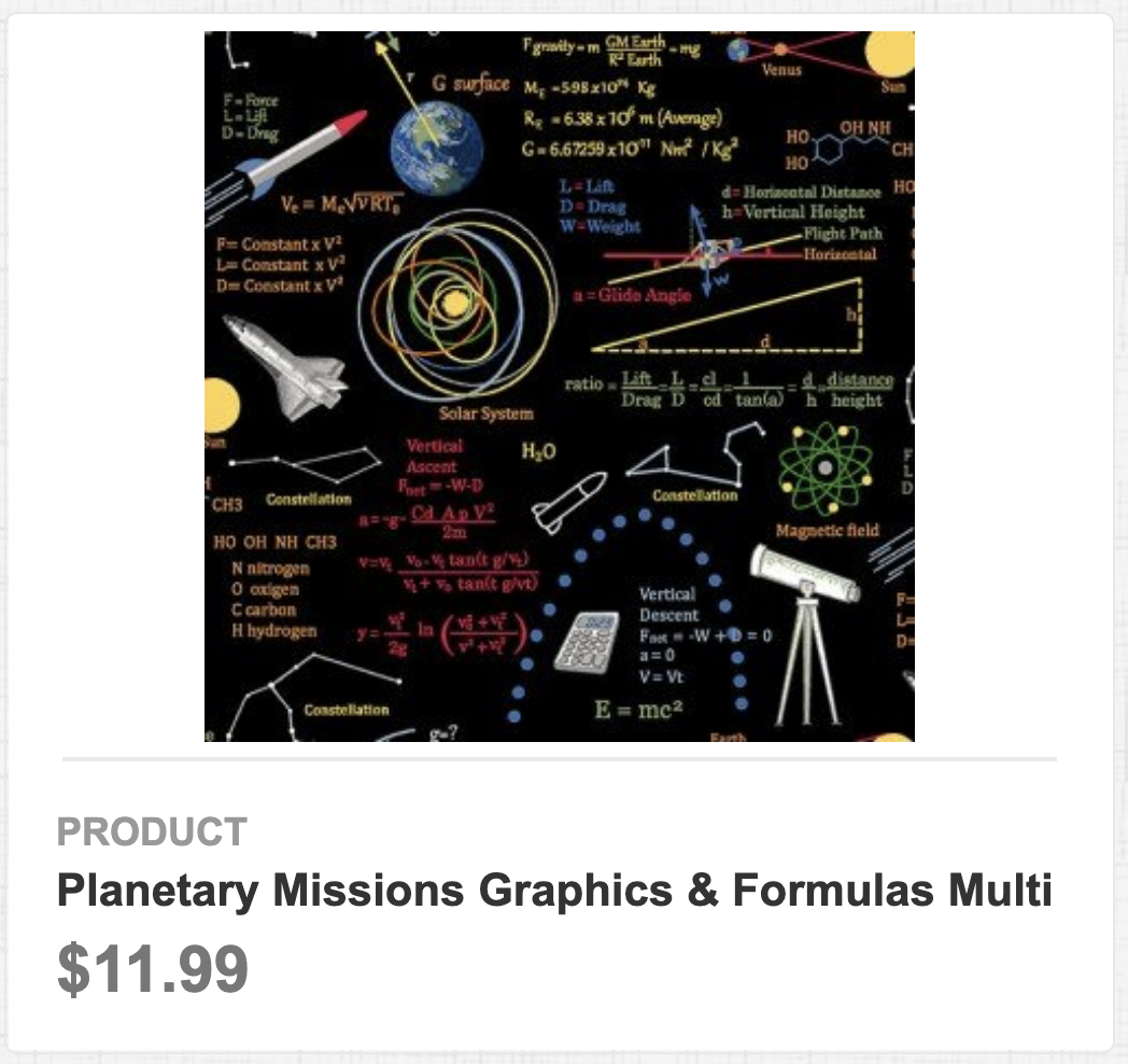 Planetary Missions Graphics & Formulas Multi
