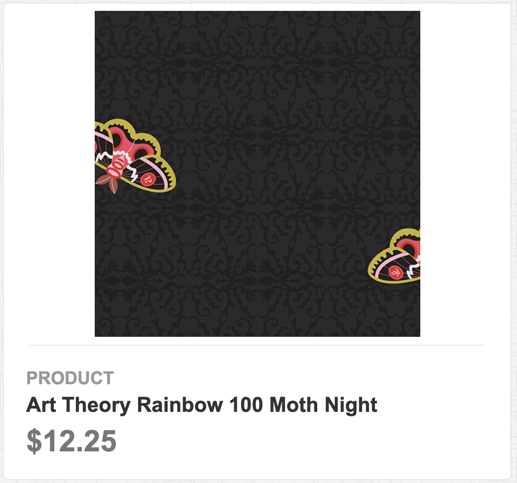 Art Theory Rainbow 100 Moth Night