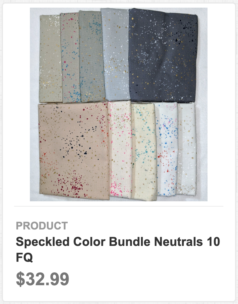 Speckled Color Bundle Neutrals 10 FQ