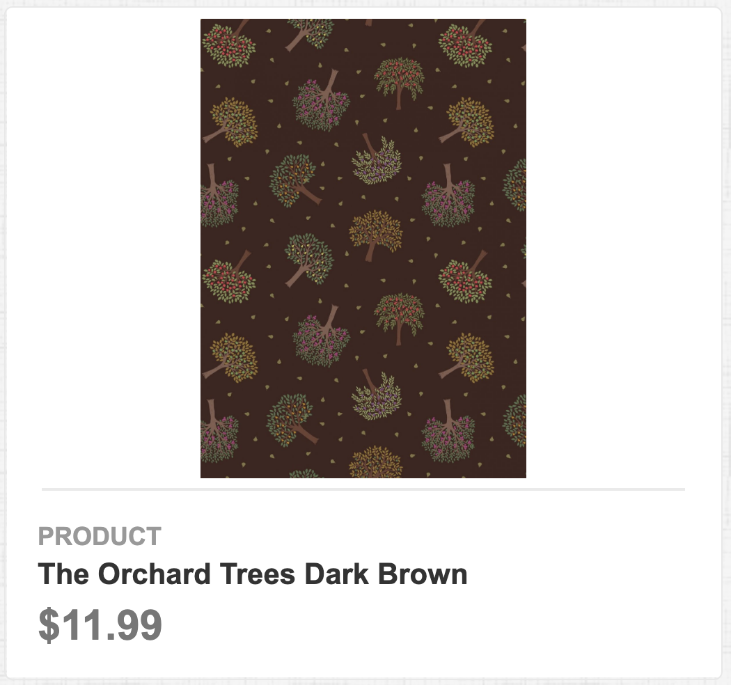 The Orchard Trees Dark Brown