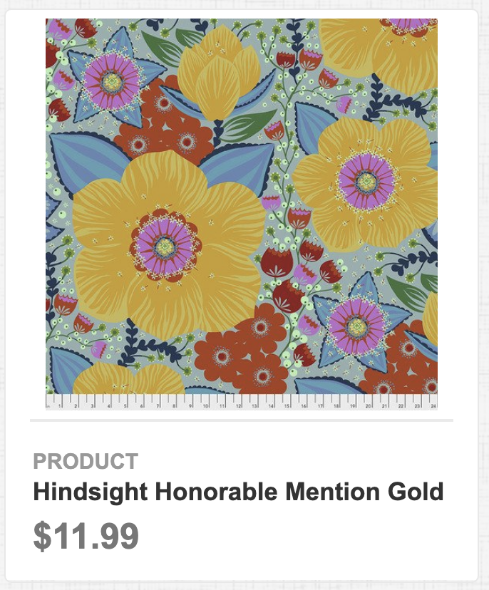 Hindsight Honorable Mention Gold