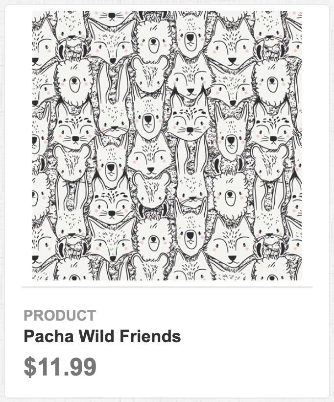Pacha Wild Friends
