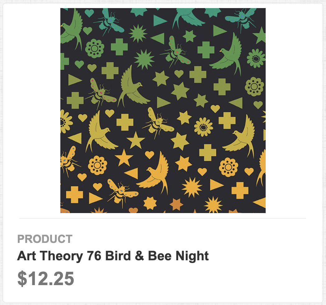 Art Theory 76 Bird & Bee Night