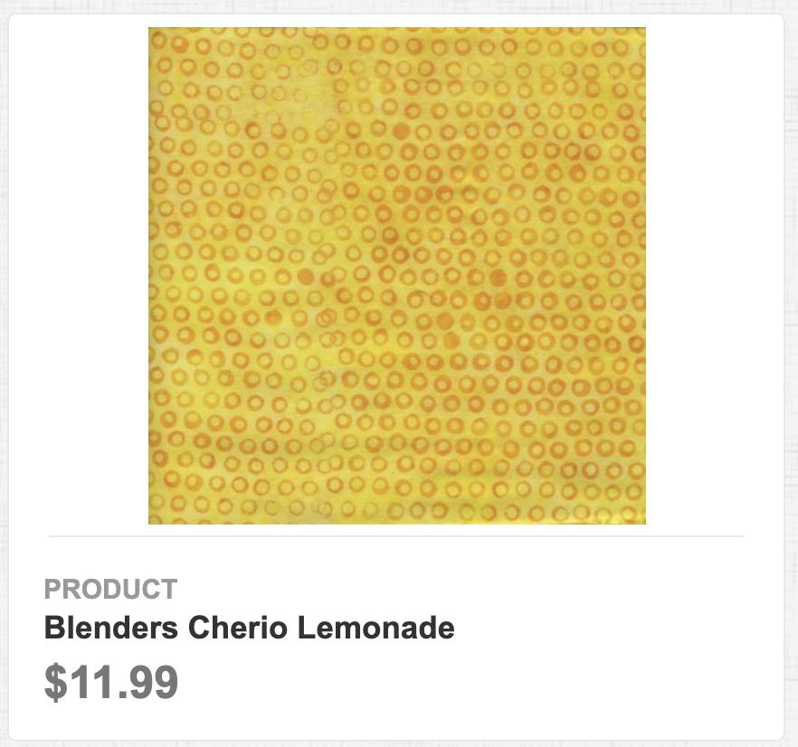 Blenders Cherio Lemonade