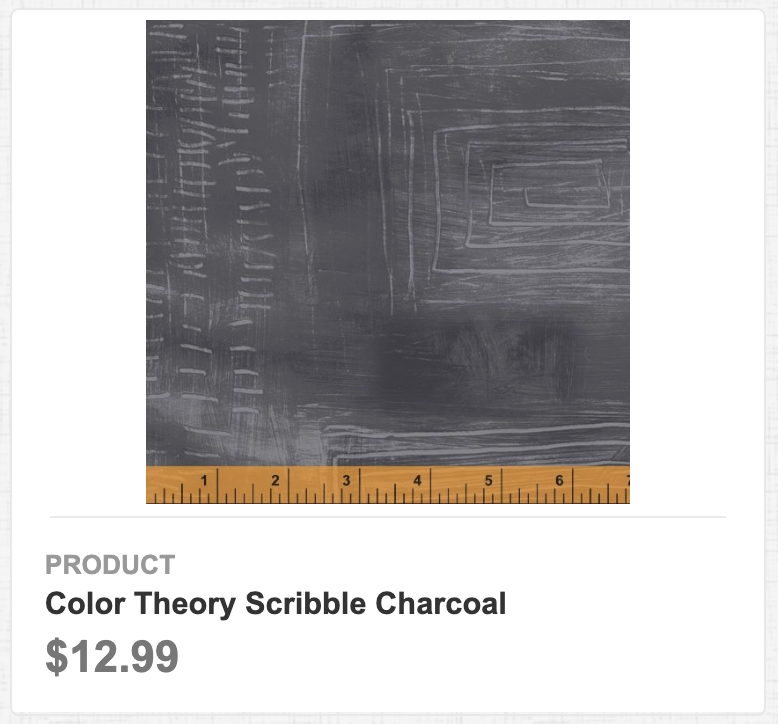 Color Theory Scribble Charcoal