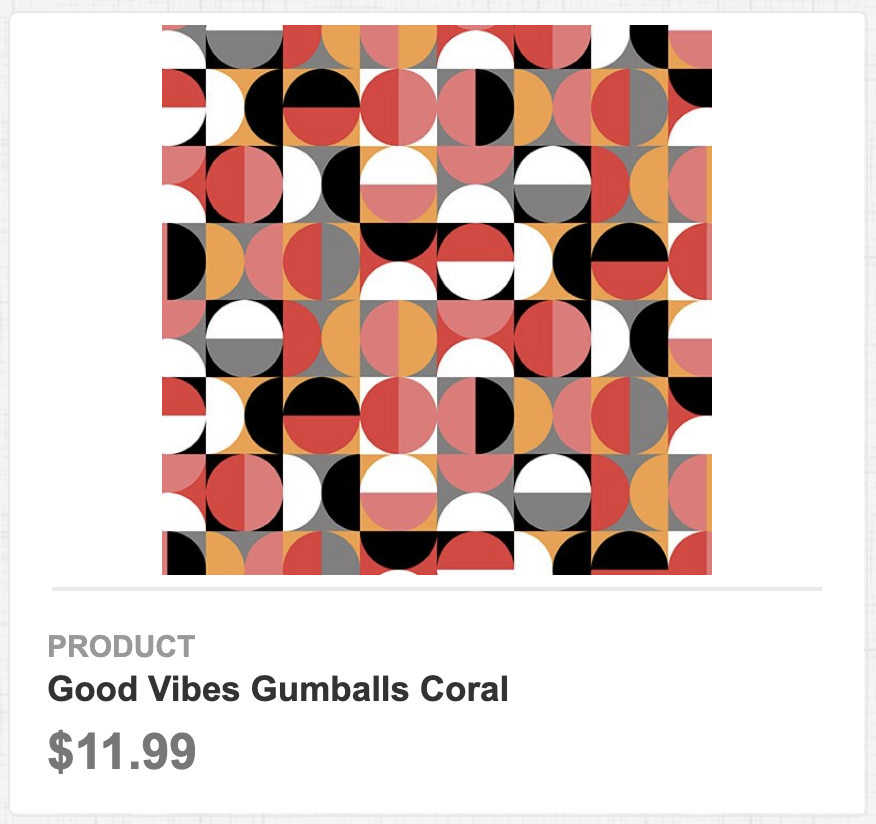 Good Vibes Gumballs Coral