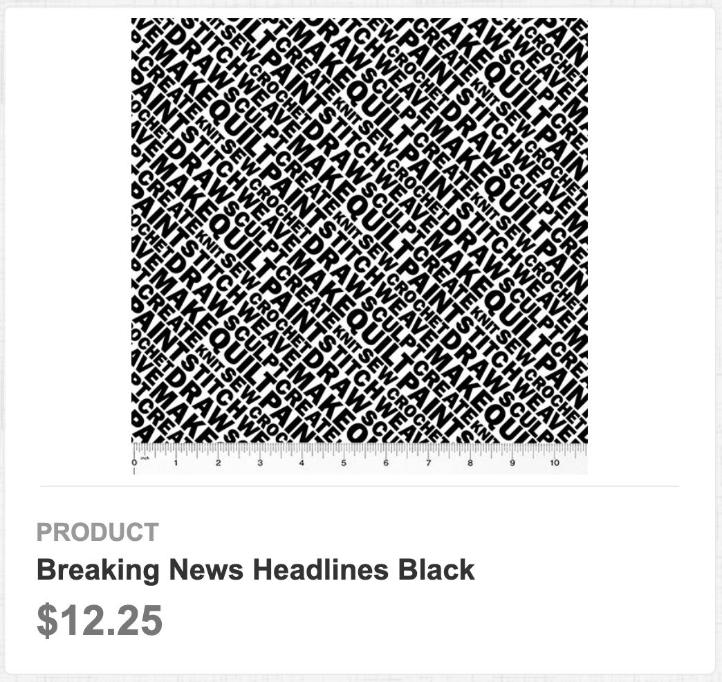 Breaking News Headlines Black