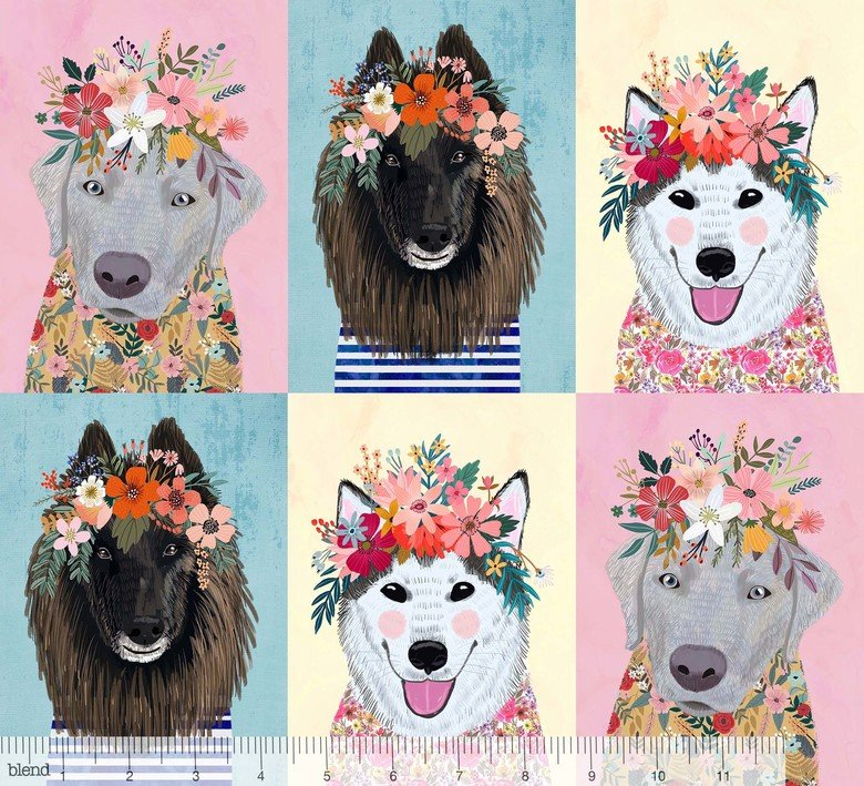 Floral Pets More Puppies