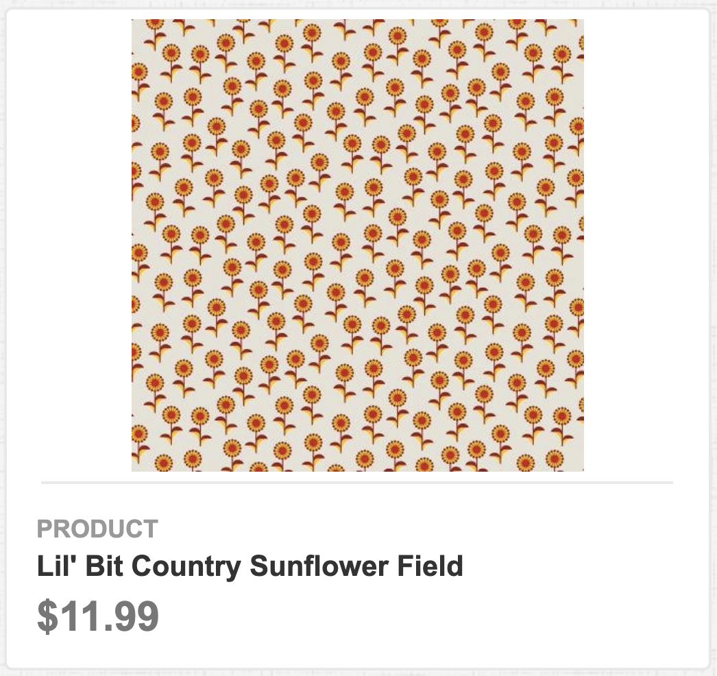 Lil' Bit Country Sunflower Field
