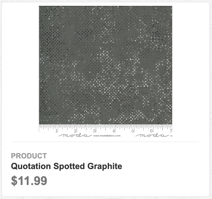 Quotation Spotted Graphite