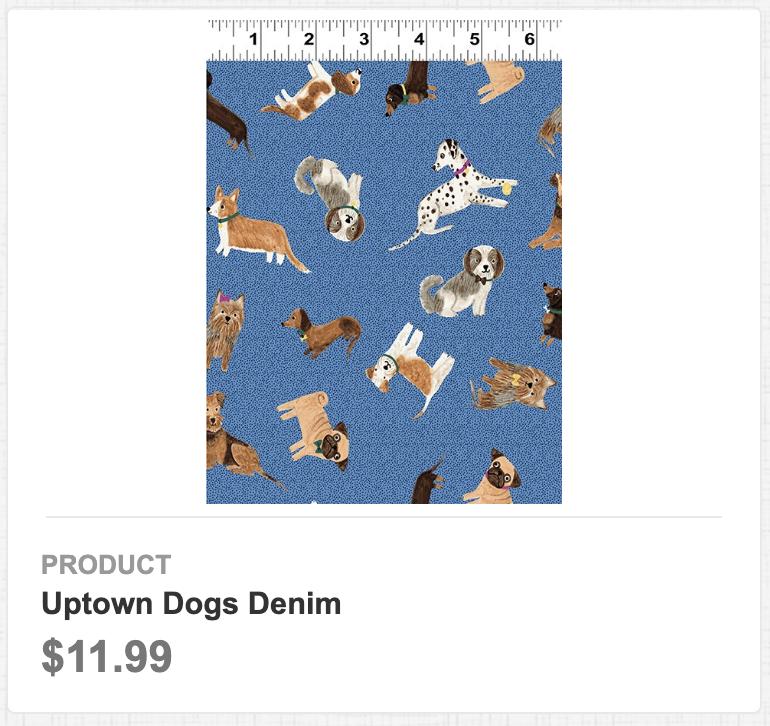 Uptown Dog Denim