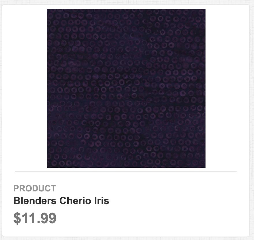 Blenders Cherio Iris
