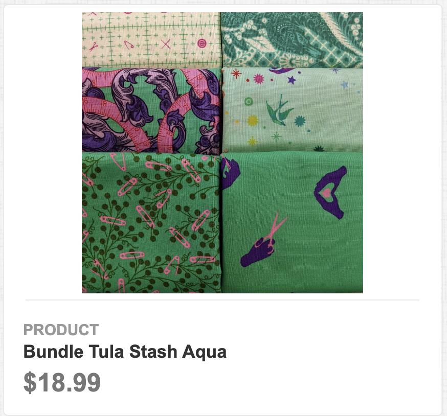 Tula Stash Aqua bundle