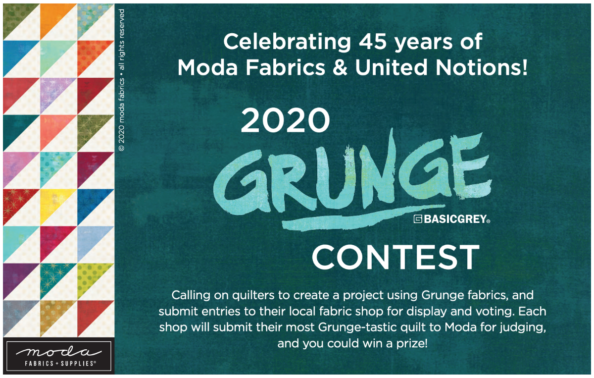 2020 Grunge Contest by ModaFabrics