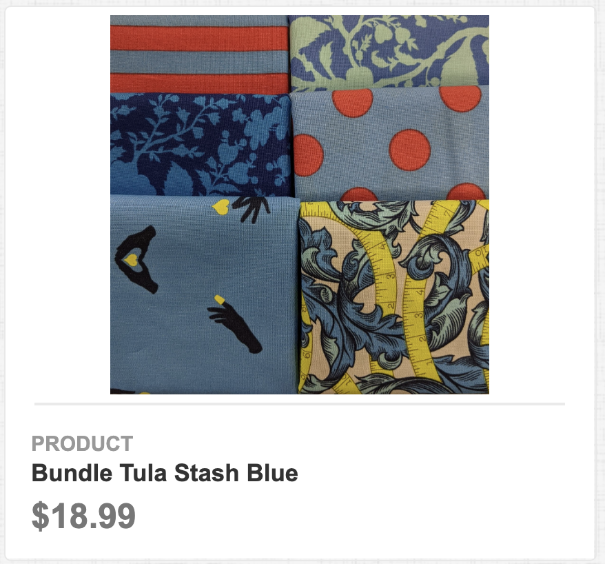Tula Stash Blue