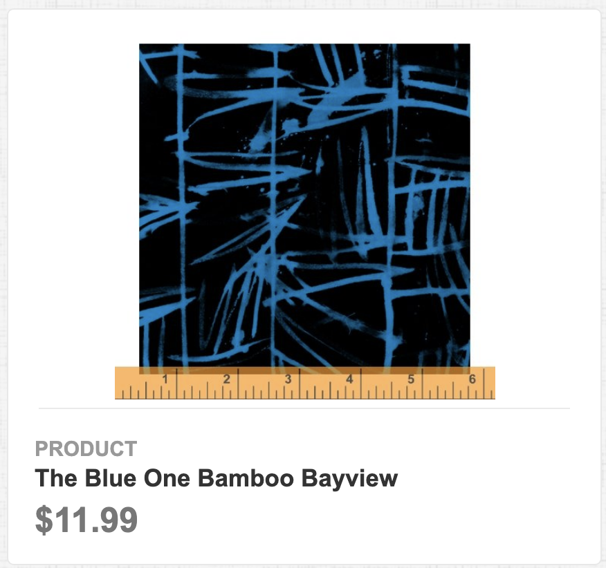 The Blue One Bamboo Bayview