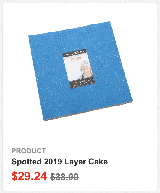 Spotted 2019 Layer Cake