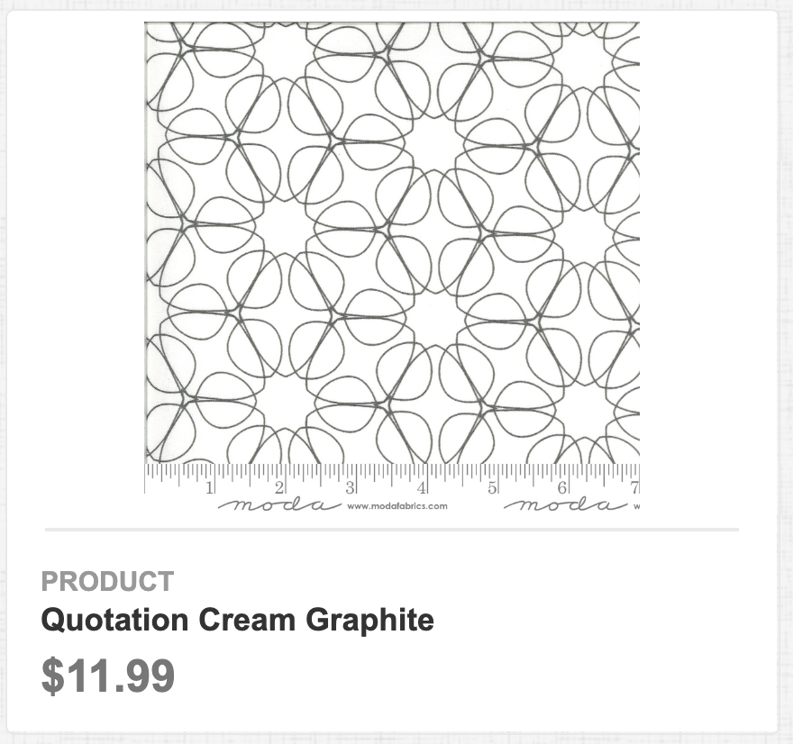 Quotation Cream Graphite