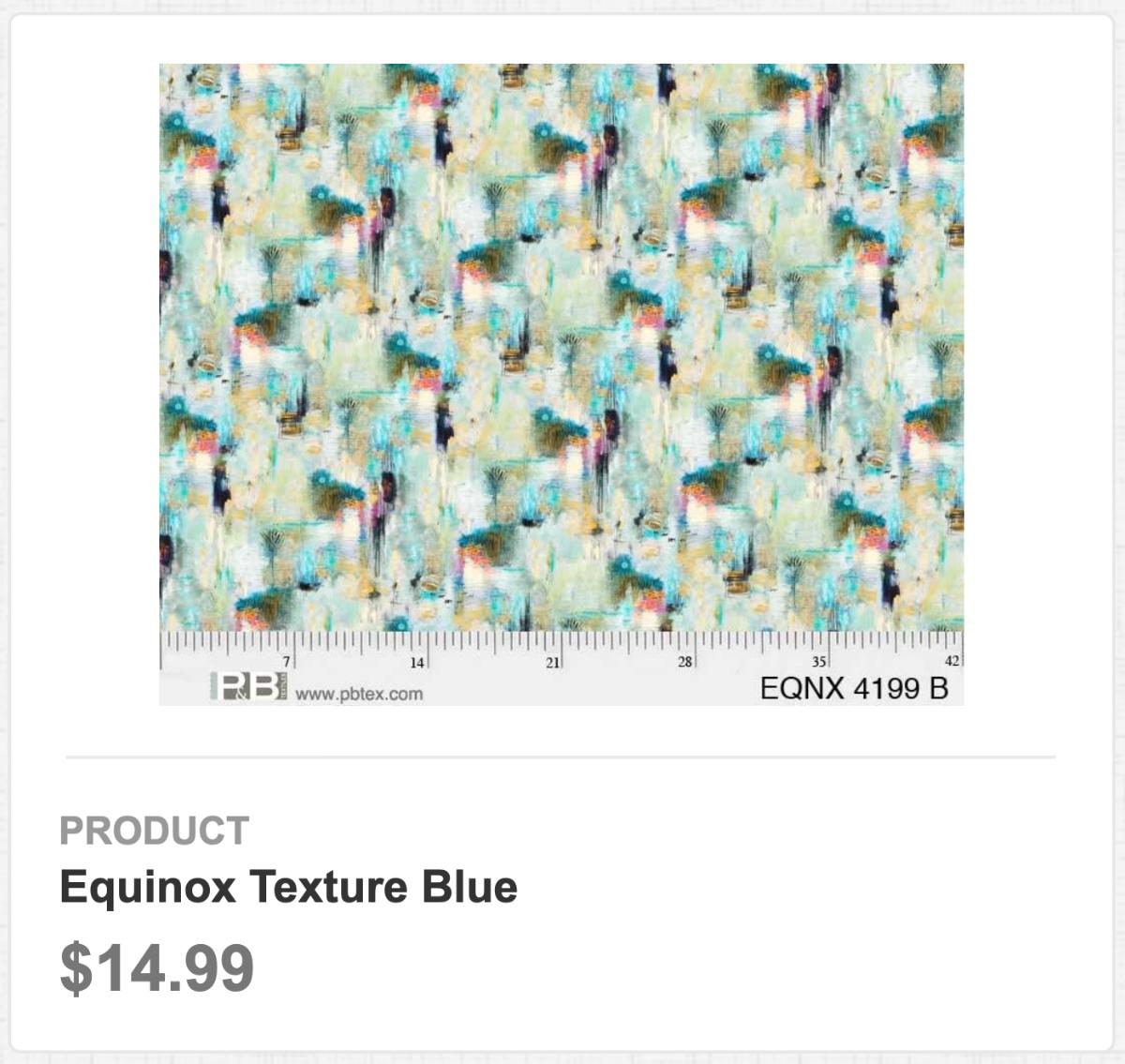 Equinox Texture Blue