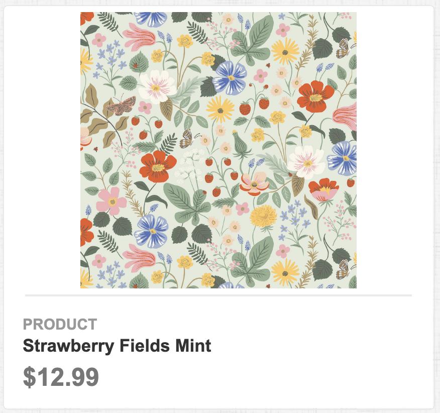 Strawberry Fields Mint