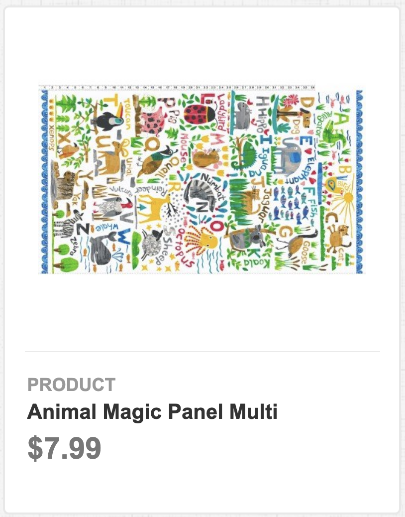 Animal Magic Panel Multi
