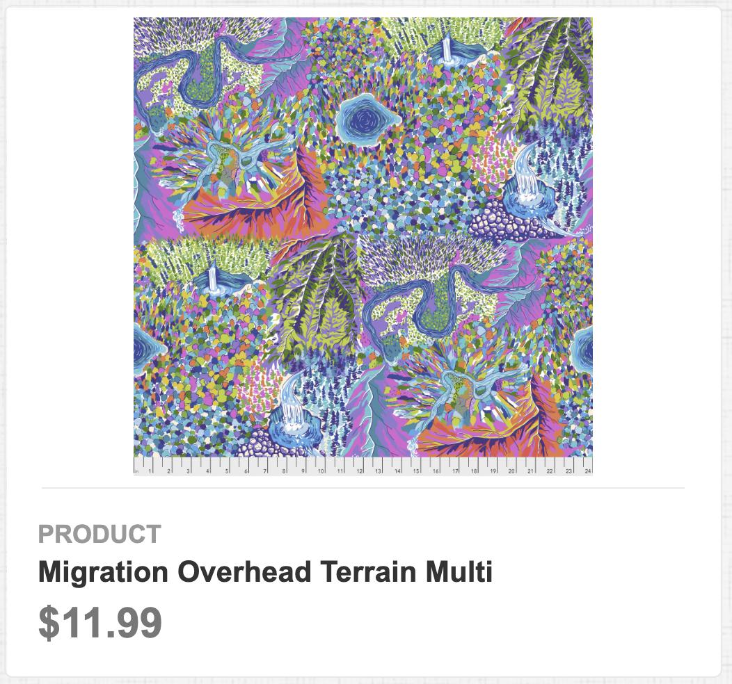 Migration Overhead Terrain Multi