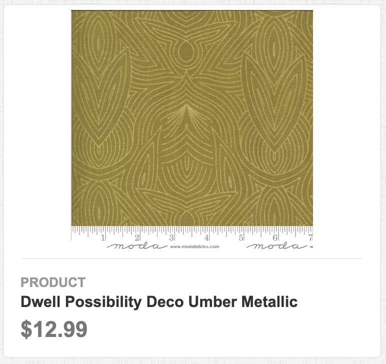 Dwell Possibility Deco Umber Metallic
