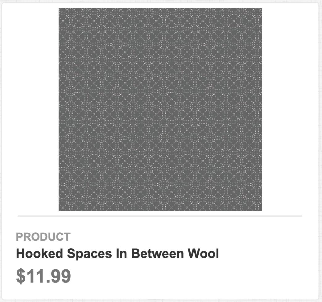Hooked Spaces In Between Wool